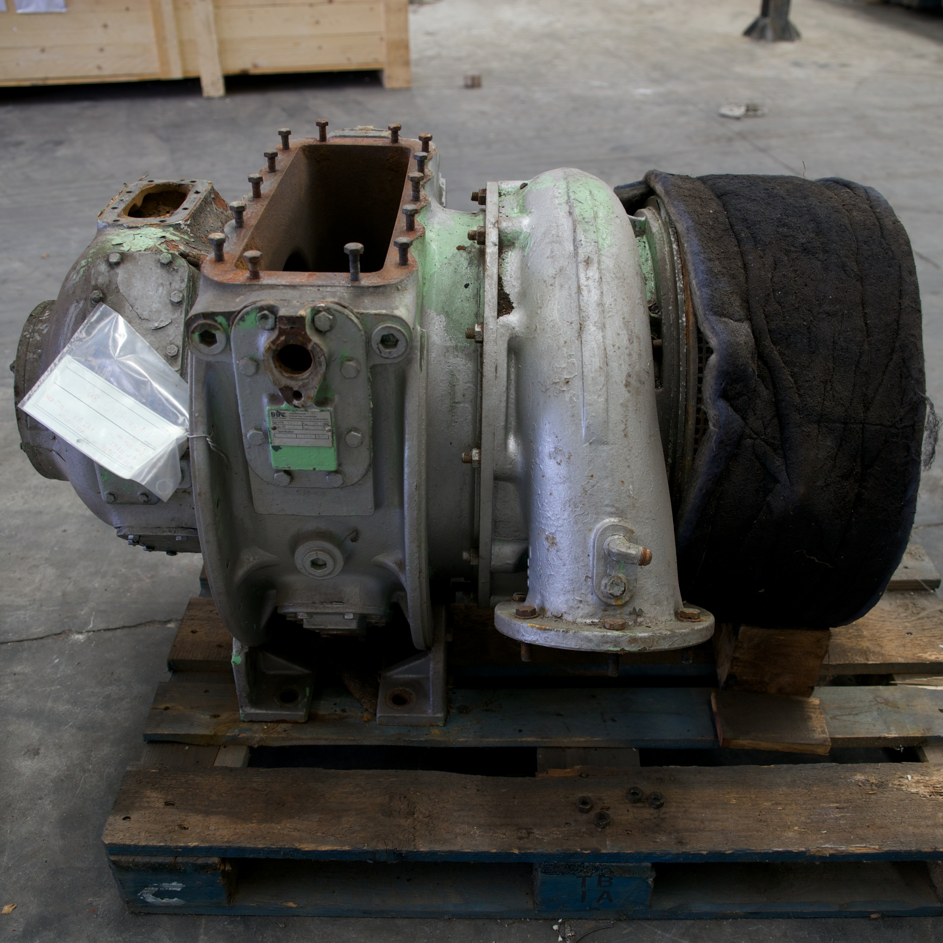 BBC VTR 251-2N Turbosoffiante / Turbocharger Image